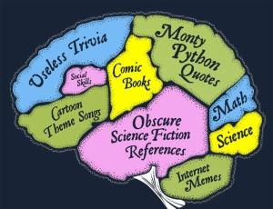 Useless stuff in brain