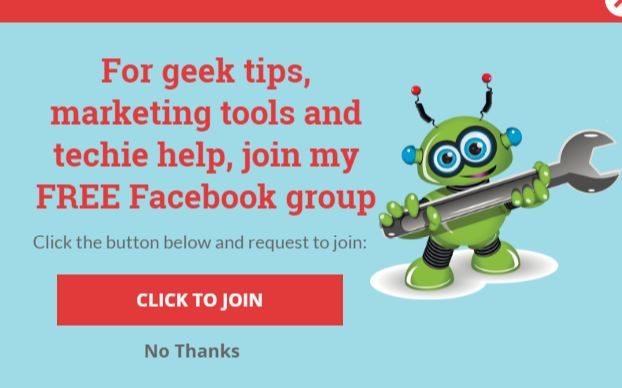 Marketingeekery Facebook Group