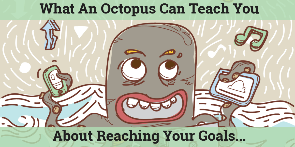 What An Octopus Can Teach You About Reaching Your Goals